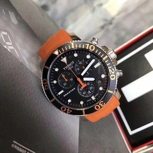 Tissot Seastar 1000 Orange Men's Watch
